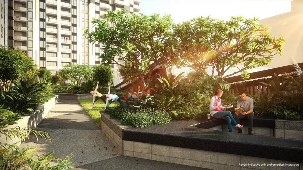 The Yards - Podium Yoga Lawn