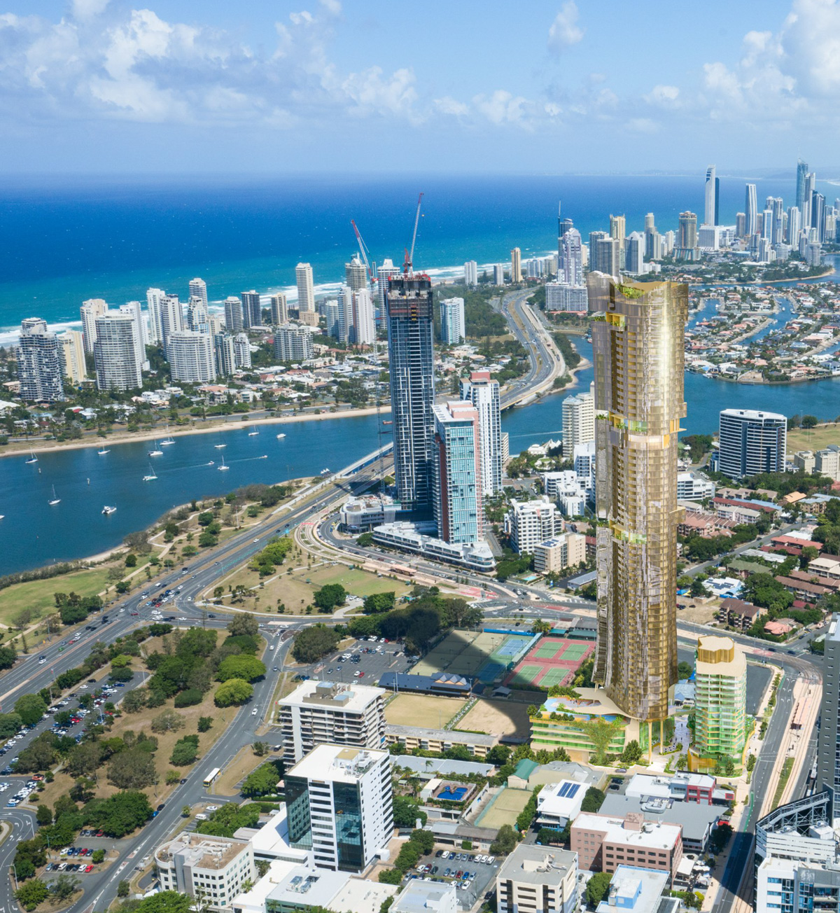 Acreage Home Design Gold Coast: 66 Storey 'Au Tower' Proposed For Southport