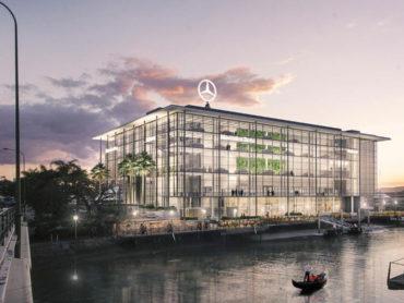 Newstead to get Australian First Mercedes-Benz Autohaus