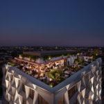 Artist's impression of Hotel Indigo rooftop