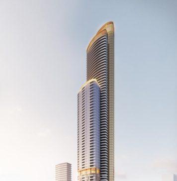 new 90 level Meriton development