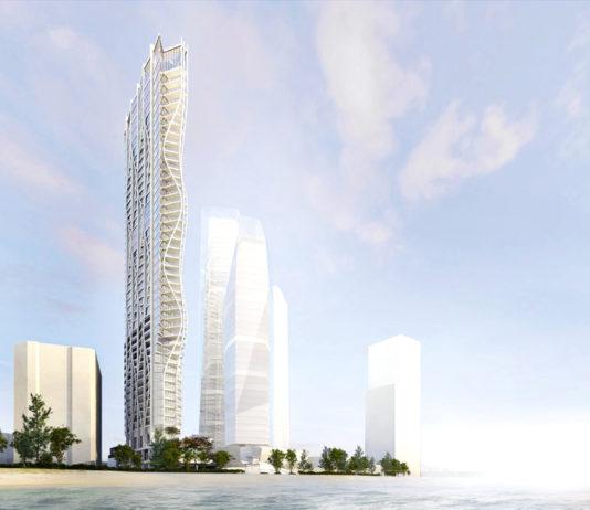 2 Wharf Road development