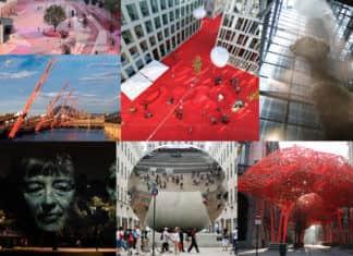 Wharf public artwork installations