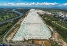 new runway under construction