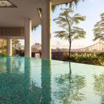 Artist's impression of 443 Queen Street's infinity edge pool