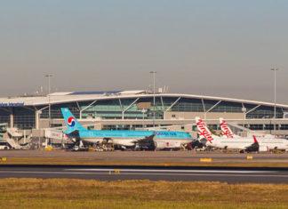 Tails at Brisbane International Terminal