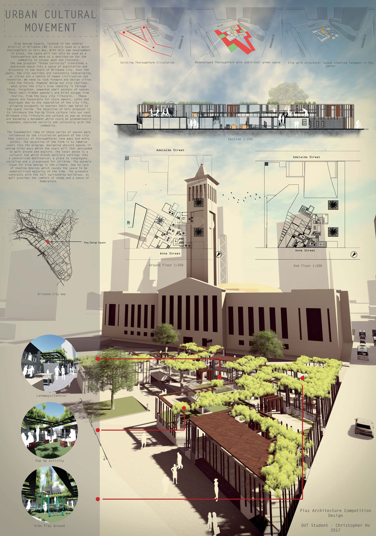 Christopher Hos Urban Curiosity Design Idea For King George Square