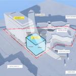 Potential plan of adjacent development