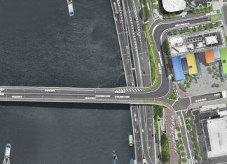 Artist's impression of Metro North Quay road changes