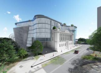 Artist's impression of Foundation Theatres Concept