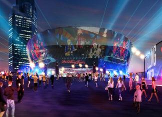 Conceptual rendering of Brisbane Live Arena