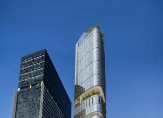 Artist's impression of Brisbane Square Tower 2