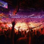 Conceptual rendering of Brisbane Live Arena interior