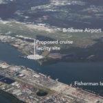 Brisbane International Cruise Terminal location. Source: Supplied
