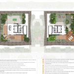 Diagram of rooftop recreation decks