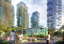 Artist's impression of News Corp's proposal for Millennium Square. Source: News Corp Australia