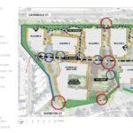 Proposed landscape design plan