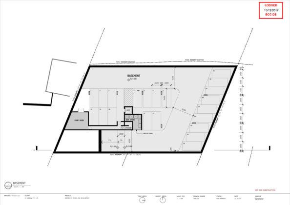 Basement diagram of 2 Oxford Street, Bulimba