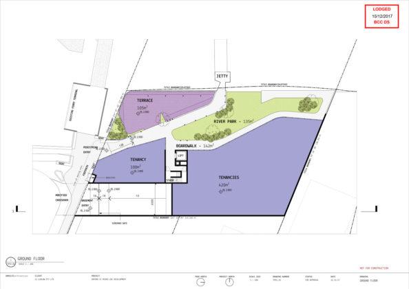 Ground level diagram of 2 Oxford Street, Bulimba