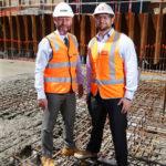 Mercedes Benz Brisbane Principal Shane Parkins and John Holland Executive General Manager QLD NT Colin Matthews