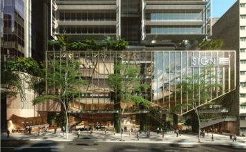 Artist's impression of 80 Ann Street's facade