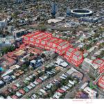 Development shown within the Annerley Road development precinct