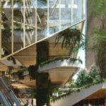 Artist's impression of external facade design
