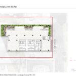 Proposed level 23 floor level