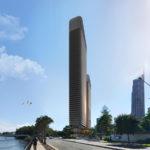 Artist's impression of River Terrace development