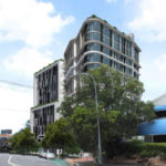 Artist's impression of the Integrated healthcare development from Annerley Road