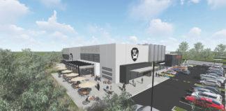 Artist's impression of new BrewDog Brisbane brewery and headquarters