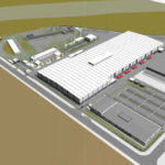 Artist's impression of the Military Vehicle Centre of Excellence facility