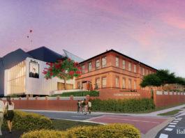 Artist's impression of Queensland Ballet's Thomas Dixon headquarters redevelopment