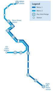 Brisbane Metro lines 1 and 2