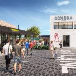 Artist's impression of Comuna Cantina in the new Everton Plaza development