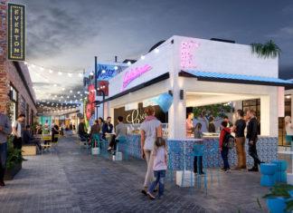 Artist's impression of Park Lane retail at Everton Plaza