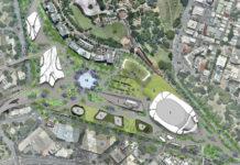 Brisbane Live preliminary master plan