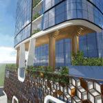 External artist's impression of proposed Class tower Broadbeach