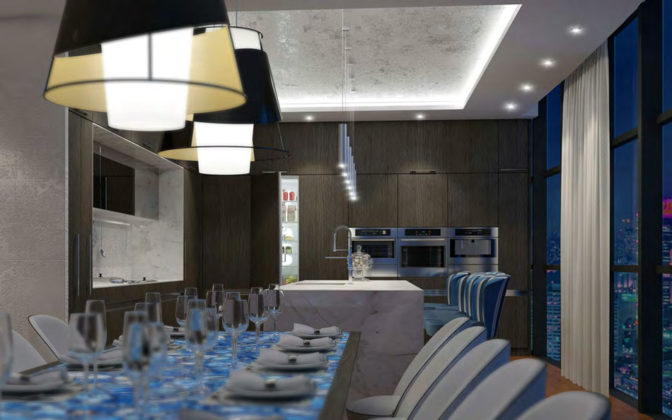 Artist's impression of CLASS Broadbeach's Skyhome