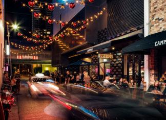 Image of Brisbane's Fish Lane running from South Brisbane to South Bank