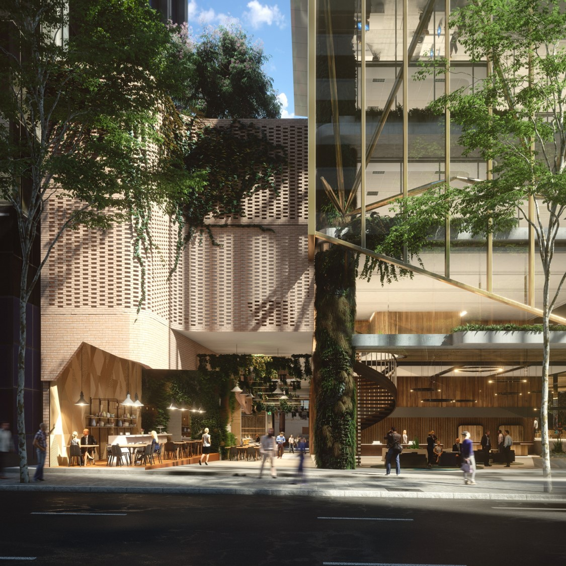 Artist's impression of Mirvac's 80 Ann Street - soon to be the new Suncorp Headquarters
