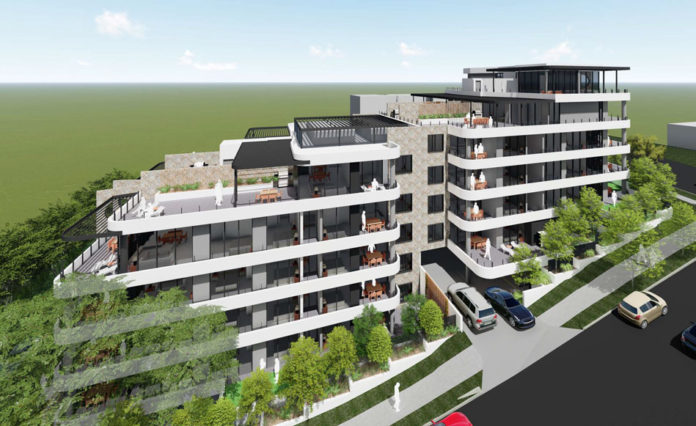 Artist's impression of 7 Burns Street, Indooroopilly development