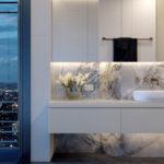 Artist's impression of premium four bedroom Monarch configuration (bathroom)
