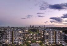 Artist's impression of the Fancutts Vertical Retirement Village