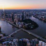 Brisbane City shot showing 'The One Residences'