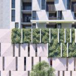 Proposed facade design