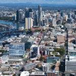 Artist's impression of 895 Ann Street aerial image
