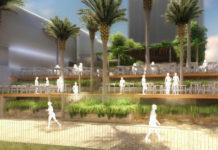 Artist's impression of new Riverside venue at 145 Eagle St