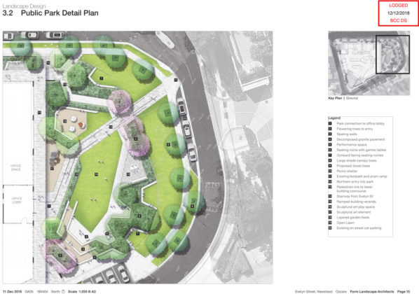 Proposed public park plan