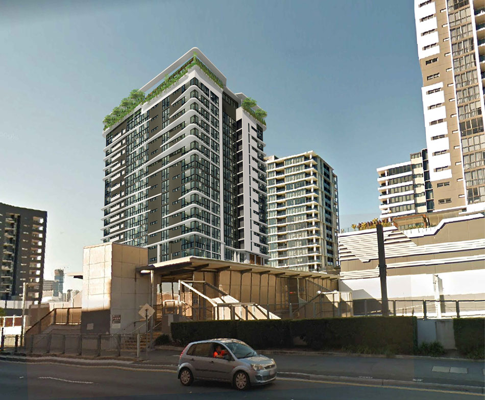 Artist's impression of Proposed 27-33 Railway Terrace, Milton